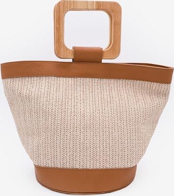 Kamoa Handtasche in Beige