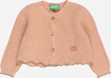 UNITED COLORS OF BENETTON Knit Cardigan in Pink