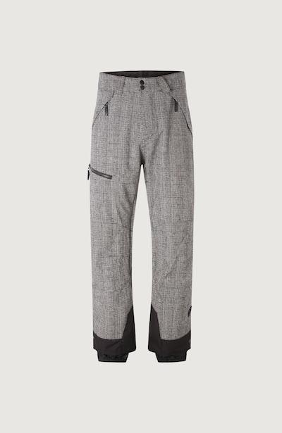 O'NEILL Spodnie sportowe 'Explore' w kolorze szary / czarnym, Podgląd produktu