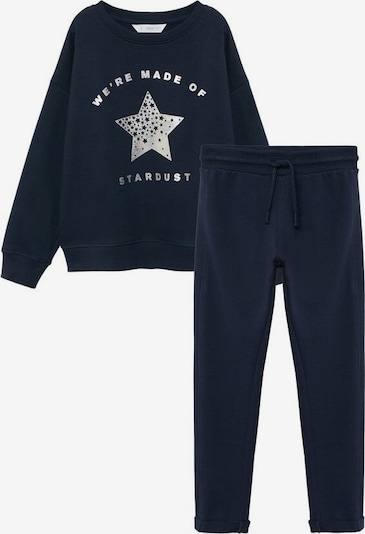 MANGO KIDS Sweat Set in navy, Produktansicht