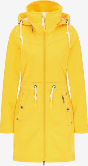 Schmuddelwedda Functionele mantel in de kleur Geel / Grijs, Productweergave