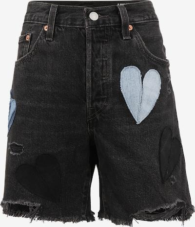 Levi's® Upcycling Jeansshort 'Shorts Kelvyn Colt Design' in anthrazit, Produktansicht