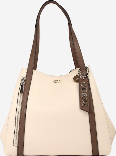 GUESS Shopper en ecru / beige claro / marrón claro, Vista del producto