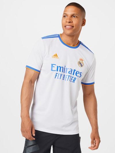 ADIDAS PERFORMANCE Trikot 'Real Madrid' in blau / orange / naturweiß: Frontalansicht