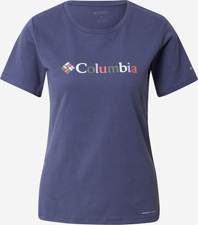 COLUMBIA T-Shirt 'Alpine Way Screen' in dunkelblau / mischfarben, Produktansicht