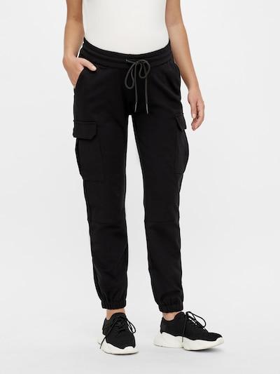 MAMALICIOUS Cargohose 'Marie' in schwarz, Modelansicht
