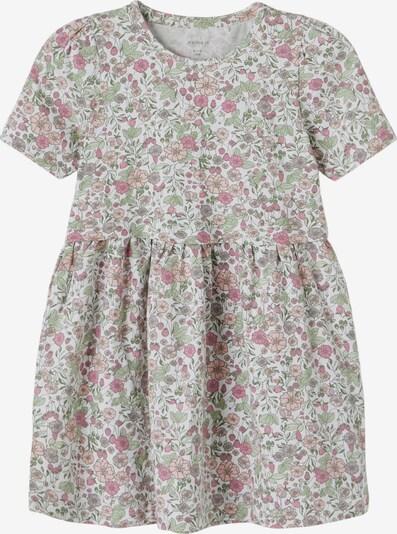 NAME IT Jurk 'Josephine' in de kleur Pastelgroen / Pink / Rosa / Wit, Productweergave