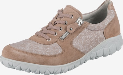 WALDLÄUFER Sneaker in beige / braun / weiß, Produktansicht