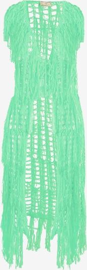 MYMO Bodywarmer in de kleur Neongroen, Productweergave