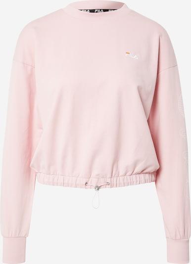 FILA Sweatshirt 'ALTIN' in orange / pastellpink / weiß, Produktansicht