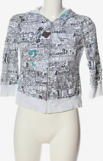 BILLABONG Kapuzensweatshirt in S in blau / schwarz / weiß, Produktansicht