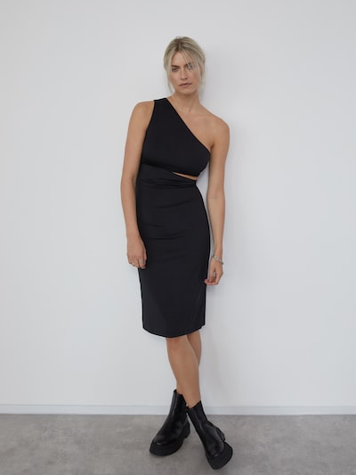 LeGer by Lena Gercke Šaty 'Felicia' - černá, Model/ka