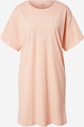 PUMA Robe de sport 'Rebel' en abricot / blanc, Vue avec produit