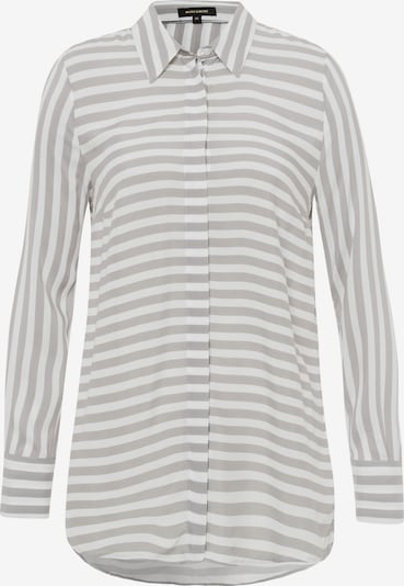 MORE & MORE Bluse in grau, Produktansicht