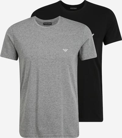 Emporio Armani Koszulka w kolorze szary / czarnym, Podgląd produktu
