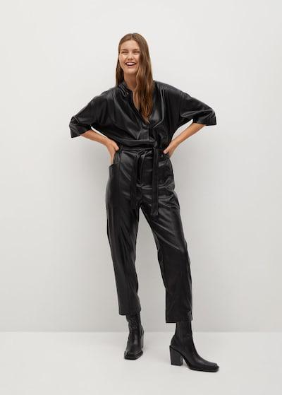 MANGO Jumpsuit 'Seul' in schwarz, Modelansicht