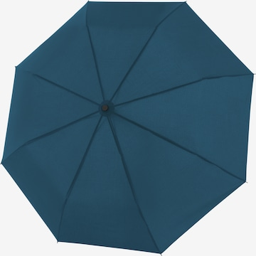 Doppler Regenschirm 'Fiber Magic' in Blau
