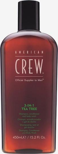 American Crew Duschgel & Haarshampoo '3 in 1 Tea Tree' in beige / braun / schwarz, Produktansicht