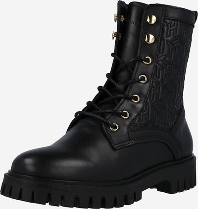 Suvarstomieji kulkšnis dengiantys batai iš TOMMY HILFIGER, spalva – juoda, Prekių apžvalga