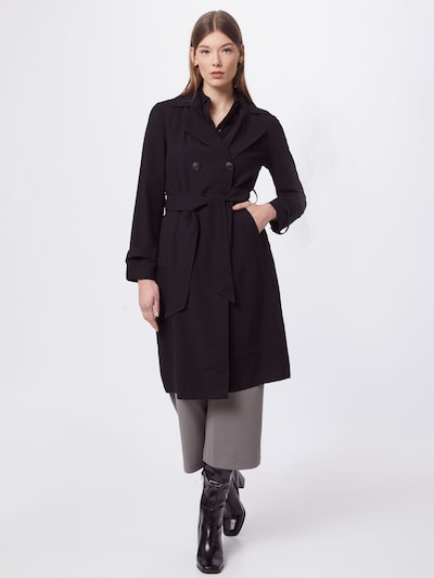 JACQUELINE de YONG Between-seasons coat 'Arya' in Black, View model
