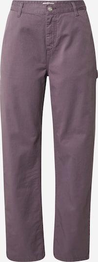 Carhartt WIP Pantalon 'Pierce' en violet foncé, Vue avec produit