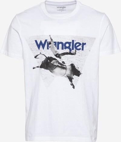 WRANGLER Shirt in de kleur Marine / Lichtgrijs / Donkergrijs / Wit, Productweergave