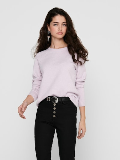 ONLY Sweater 'LESLY KINGS' in Pastel purple, View model