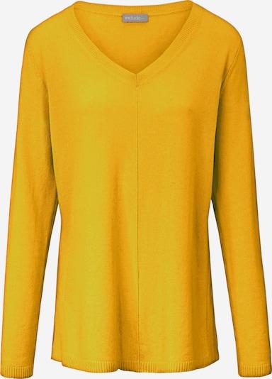 include Pullover aus Kaschmir in gelb, Produktansicht