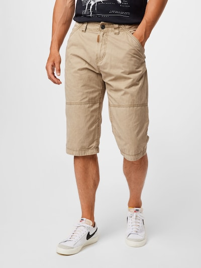 TOM TAILOR Pantalon chino 'Max' en beige, Vue avec modèle
