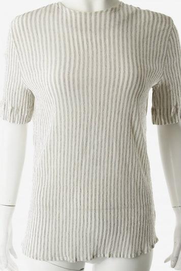 CERRUTI Crash-Bluse in M in creme / schwarz, Produktansicht