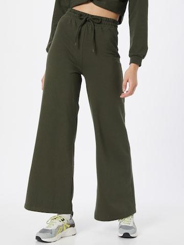 ABOUT YOU Püksid 'Katrin', värv roheline