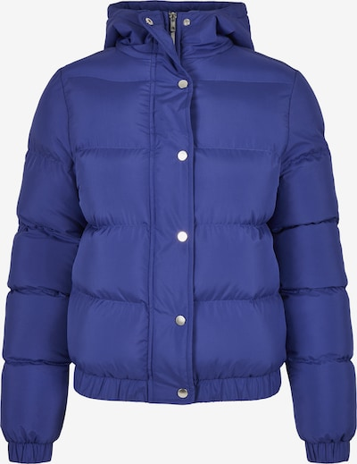 Urban Classics Winterjas in de kleur Royal blue/koningsblauw, Productweergave