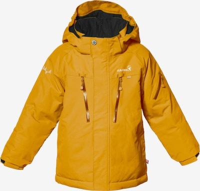 Isbjörn of Sweden Outdoorjacke 'HELICOPTER' in gelb / weiß, Produktansicht