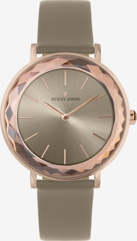 Jacques Lemans Analog Watch in Beige