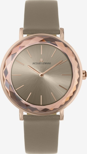 Jacques Lemans Analog Watch in Gold / Taupe, Item view