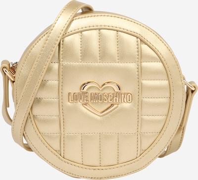 Love Moschino Torba preko ramena u zlatna: Prednji pogled