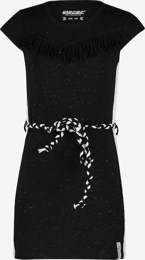 4PRESIDENT Kleid in schwarz / weiß, Produktansicht