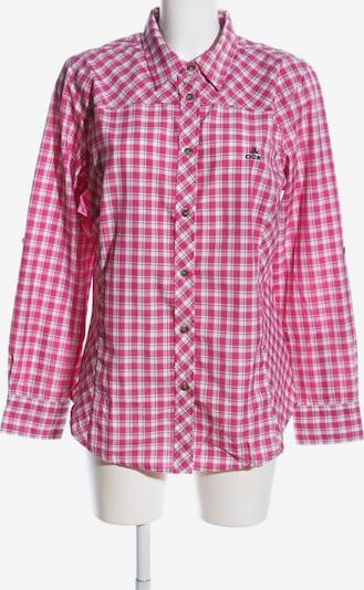 OCK Flanellhemd in L in pink / weiß, Produktansicht