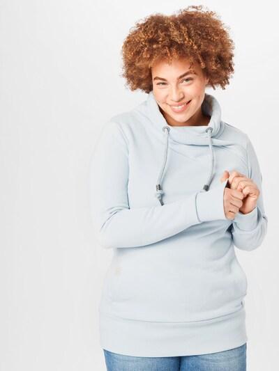 Ragwear Plus Mikina 'NESKA' - svetlomodrá: Pohľad spredu