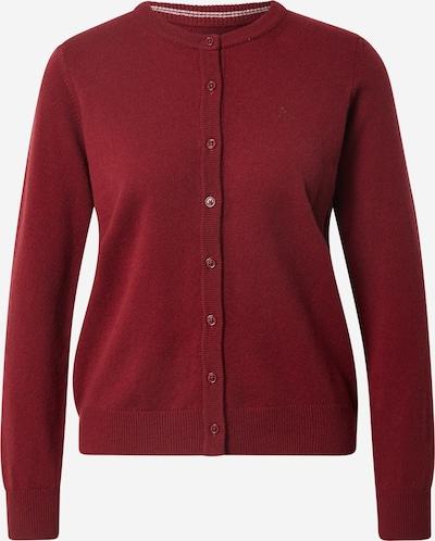 Geacă tricotată GANT pe roșu vin, Vizualizare produs