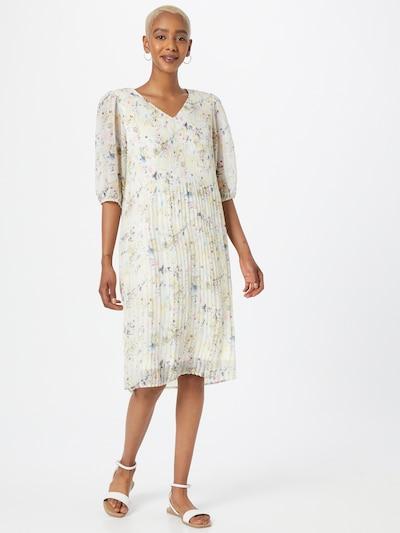 Love & Divine Kleid in royalblau / pastellgelb / anthrazit / pastellpink / weiß, Modelansicht