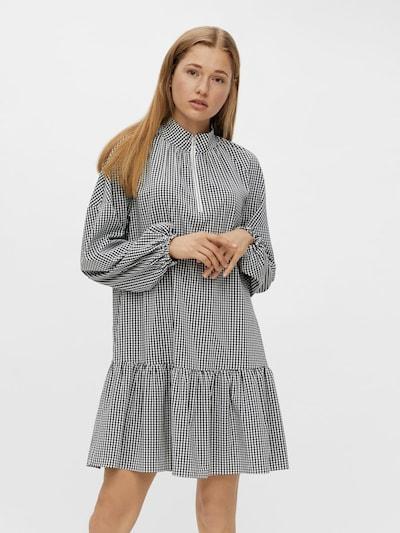 PIECES Jurk in de kleur Zwart / Wit, Modelweergave