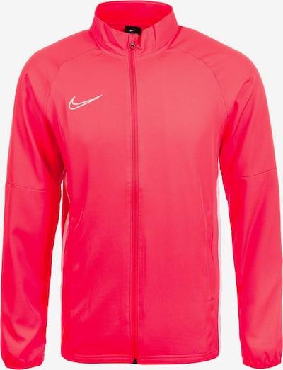 NIKE Trainingsjacke 'Academy 19 Track' in neonrot / weiß, Produktansicht
