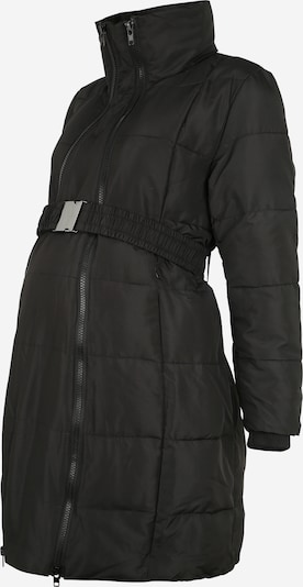 LOVE2WAIT Manteau mi-saison en noir, Vue avec produit