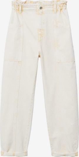 Jeans 'Angela' MANGO pe galben pastel, Vizualizare produs