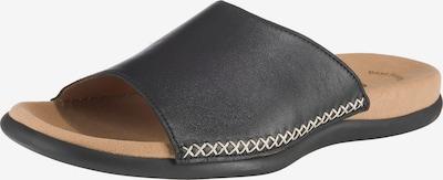 GABOR Pantoletten in schwarz, Produktansicht
