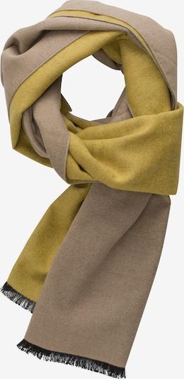 ETERNA Schal in beige / senf, Produktansicht