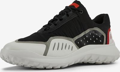 CAMPER Sneaker 'Film Houston' in dunkelgrau / rot / schwarz / weiß, Produktansicht