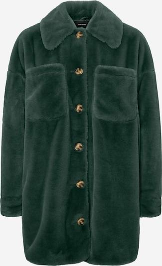 VERO MODA Kunstfell Hemd Jacke in grün, Produktansicht