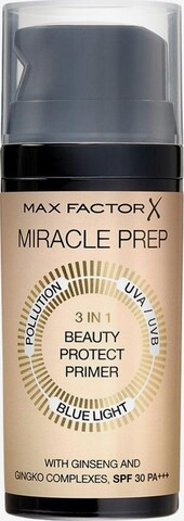 MAX FACTOR Primer 'Miracle Prep 3in1' in Beige